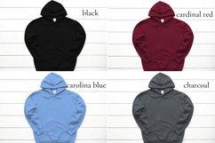 Hoodie Mockup Bundle Gildan 18500 Basic hoodie mockups Product Image 2