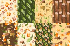 Woodland Digital Papers Product Image 3