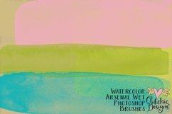 Photoshop Brushes - Watercolor Arsenal Wet Brushes Product Image 2