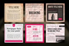 Newspaper Social Media Templates Product Image 7