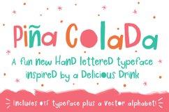 Piña Colada Font Product Image 1
