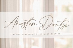 Ambitious - handwritten font Product Image 6