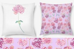 pion floral seamless pattern Product Image 3