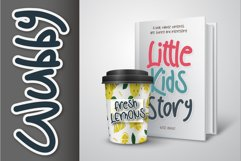 Wubby - a cute display font Product Image 4