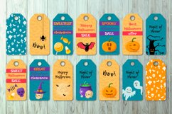 HALLOWEEN label tags. Product Image 2