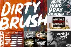 BRUSH CRAFTED Font Bundles Product Image 2