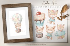 Cute woodland animals clipart. Product Image 6
