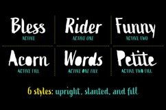 Active Font Family Product Image 2