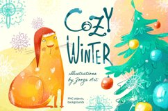 Cozy Winter illustrations Product Image 1