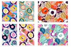 Abstract trendy pattern set Product Image 6