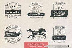 12 vintage template logos set Product Image 3