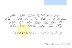 Tedless Handwritten Font Product Image 2