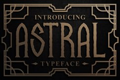 Astral Display Font Product Image 4