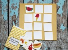 Printable Summer Memory Matching Game - 3 Games - ONE Download Product Image 3