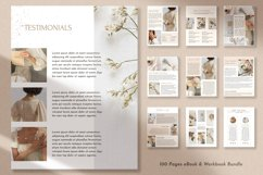 100 Pages Canva Workbook Template   Ebook Template for Canva Product Image 2