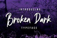 Broken Dark Typeface Product Image 5
