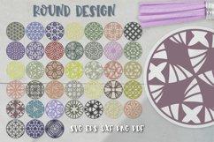 Keychain Svg Bundle of 220 designs Geometric patterns Product Image 6