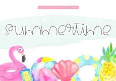 Summertime - A Cute Handwritten Font Product Image 1