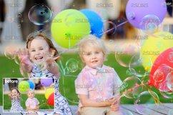 30 Photoshop overlay Bubble overlays, Soap bubbles Product Image 4