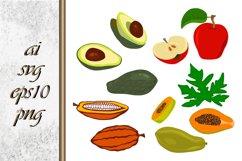 Vector Fruit Food Illustration Product Image 1