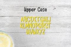 Web Font Lemon Drizzle Product Image 5