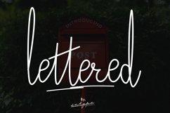 Lettered Signature Script Product Image 1