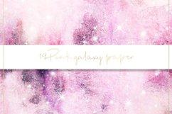 Galaxy watercolor digital paper Product Image 4
