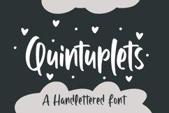 Quintuplet - Handlettered Font Product Image 1