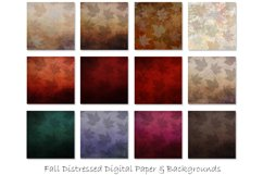 Distressed Fall Textures - Fall and Autumn Backgrounds Product Image 2