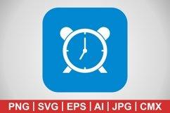 Vector Alarm Icon Product Image 1