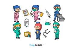 Nurse Illustrations Product Image 2