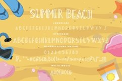 Summer Beach Sunny Display Typeface Product Image 6