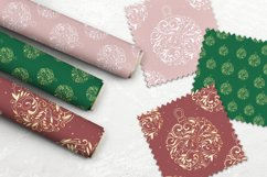 Christmas decoration ball. Digital Paper Seamless Pattern Product Image 3