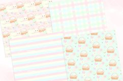 Easter Bunny Seamless Patterns Digital Papers Product Image 4