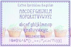 Extra Sprinkles Font Trio Product Image 3