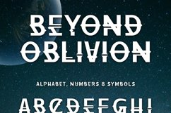 Beyond Oblivion Product Image 4