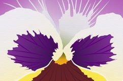 Pansy Flower Bud - Sublimation Design Product Image 5