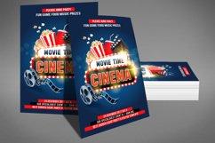 Cinema Movie Flyer Product Image 2