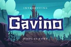 Gavino Font Product Image 1