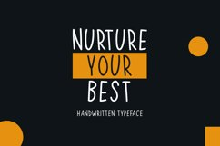 Nurture Your Best Product Image 1