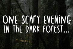 Spooky Night - A Creepy Font Product Image 2