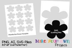 Flower SVG shape Product Image 1