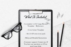 Resume Template Minimalist | CV Template Word - Melanie Product Image 8