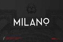 Milano - RetroFuturistic Sans Product Image 1