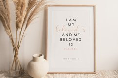 Scripture wall print, Bible verse, Love verse poster Product Image 1