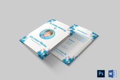 Funeral Program Template | Obituary Template Product Image 6
