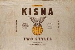 Kisna Handdrawn Typeface Product Image 1