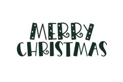Merry Merry - A Fun Handwritten Font in Three Styles! Product Image 4