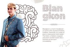 Batik Jawa Decorative Victorian Handwritten Product Image 7