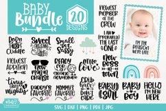 Baby SVG Bundle - Newborn SVG Cut Files - 20 Designs Product Image 1